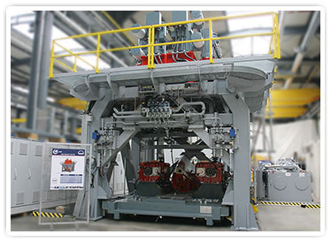 Flexible Main Gearbox Test Stand with Pallet Loading System